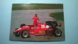 Ferrari - RENE ARNOUX (Autografo Originale) - Personalità Sportive