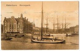 Danemark--COPENHAGUE (Kobenhavn)--1914--Havneparti (beaux Bateaux-voiliers) N° 523 éd Eneret-old Postcard-beau Cachet - Danemark