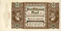 Deutschland, Germany - 2 Mio. Mark, Reichsbanknote, Ro. 89 A ,  ( Serie E/Aa ) UNC- ( I- ), 1923 ! - 2 Millionen Mark