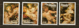 Aitutaki 1987 Yvertn° 464-67 *** MNH Cote 16,50 Euro Noel Christmas Kerstmis Rubens - Aitutaki