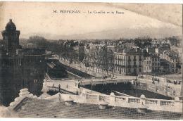 PERPIGNAN - Le Castillet  Et La Basse  TB - Perpignan