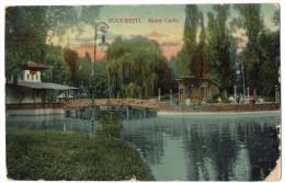 Roumanie--BUCAREST--1912--Monte-Carlo    éd  AM.Horowitz--lettre Taxée à L'arrivée En France - Roumanie