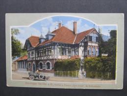 AK BLAUSTEIN B. ULM HERRLINGEN Gasthof Zum Kreuz 1910// D*14532 - Ulm