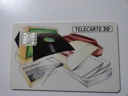 RARE : RCDIS LA FOURNITURE INFORMATIQUE USED CARD ISSUE 1000EX - France