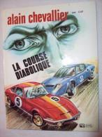 """Alain Chevallier   Bande Dessinée     N° 2    """" LA COURSE DIABOLIQUE""""          4 Euros - Magazines Et Périodiques"""