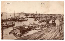 Roumanie--- BRAILA--1919--Hafen  N° 400 - Roumanie