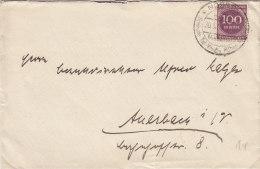 INFLA DR 268 A EF Auf Brief Mit Gelegenheitsstempel(Filbr Andt Nr 241): Nossen 30.5.1923 - Deutschland