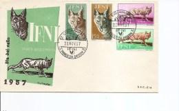 Ifni ( FDC De 1957 à Voir) - Ifni