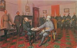 The Surrender Of General Lee To General Grant, April 9, 1865 By L.M.D. Guillaume (1816-1892) - Hommes Politiques & Militaires