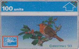 Télécarte NEUVE GIBRALTAR / L&G - ROUGE GORGE & NOEL - ROBIN  BIRD & CHRISTMAS MINT Phonecard - VOGEL TK - 3686 - Gibraltar