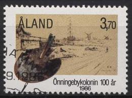 Aland 1986 100 Jahre Künstlerkolonie Önnigeby 19 Gestempelt - Ålandinseln