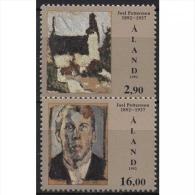 Aland 1992 100. Geburtstag Von Joel Pettersson 61/62 Postfrisch - Ålandinseln