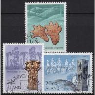 Aland 1986 Geschichte Der Alandinseln 16/18 Gestempelt - Ålandinseln