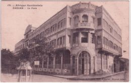 170- Afrique Occidentale - DAKAR - La Poste -ed. Fortier - - Senegal