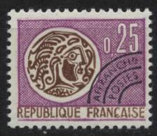 N° 126  Année 1964-69 Monnaie Gauloise, Valeur Faciale 0,25 F - Precancels