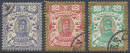 PERSIA IRAN 1894 Nº 82/84  KEY VALUES - Iran