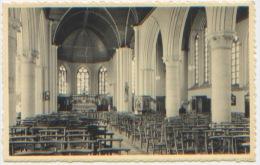 Belgique, Comines-Warneton, Komen-Waasten, Ploegsteert, Intérieur De L'église, Kerk, Ed. Nels Delsalle, Dos Divisé, TBE - Comines-Warneton - Komen-Waasten