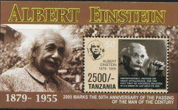 BN1315 Tanzania 2005 Einstein M MNH - Célébrités