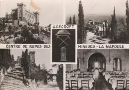 LA NAPOULE -06- CHATEAU AGECROFT CENTRE DE REPOSE DES MINEURS DU NORD ET DU PAS DE CALAIS - France