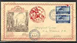 69,STORIA POSTALE,ITALIA REPUBBLICA,LUOGOTENENZA DEL 4/5/46 DA VENEZIA PER IL LID 2 L. P.A. DEMOCRATICA PERFORATO RFPV46 - Storia Postale