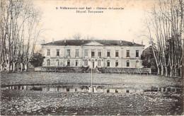 CPA Villeneuve-sur-Lot Chateau De Lamothe Hopital Temporaire E702 - Villeneuve Sur Lot