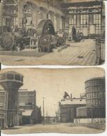 2 Postkaarten Willebroek Fabrieken Ammoniaque Synthétique & Dérivés - Willebroek