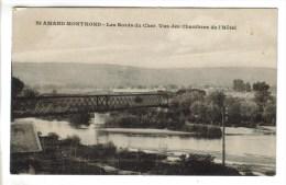 CPSM SAINT AMAND MONTROND (Cher) - Les Bords Du Cher Vus Des Chambres De L'hôtel - Saint-Amand-Montrond