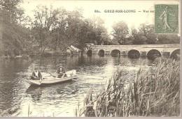 GREZ-SUR-LOING - Vue Sur Le Pont - Pêcheurs En Barque - France