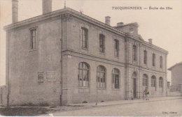 """1915  Tucquegnieux """" L'Ecole Des Filles """" - Briey"""