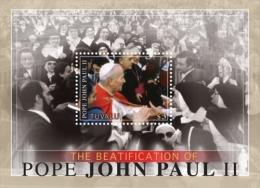 TUVALU ; MINT N.H. STAMPS ; SCOTT # 1164 ; IGPC 1110 S ( POPE JOHN PAUL II - Tuvalu