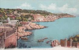 (123) Marseille  Promenade De La Corniche Colorisé - Endoume, Roucas, Corniche, Plages