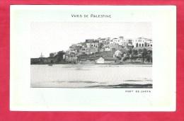 Asie-Palestine-Vue De Palestine,Port De Jaffa--Taille Cpa Non écrite Pub Edition De La Chocolaterie D'aiguebelle - Palestine
