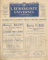 L'ECHANGISTE UNIVERSEL N° 529 Du 15  Juillet 1942.  Philatélie. - Frans (vanaf 1941)