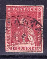 Toskana - 1857 Mi.#12 Gestempelt WZII - Toscane