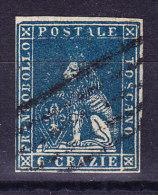 Toskana - 1857 Mi.#15 Gestempelt WZII Signiert - Toscane