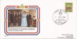Jordan 1994 Vist Queen Beatrix Of The Netherlands 1 - FDC