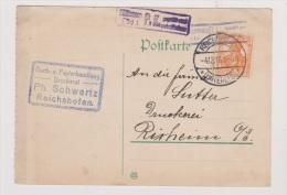 ALLEMAGNE  //  POSTKARTE //  DE REICHSHOFEN  //  POUR RIXHEIM  //  4/12/1916 //  CACHET CENSURE - Stamped Stationery
