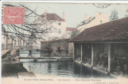 21 - Is-sur-Tille (C�te-d'Or) - Le Lavoir -Rue H�pital Nicolas.