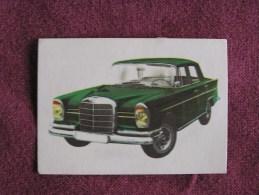 MERCEDES 220 SE Chromo Auto 1964 Chocolat Jacques Eupen Automobile Trading Card Chromos Vignette - Jacques