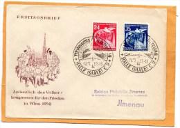DDR 1952 FDC - DDR