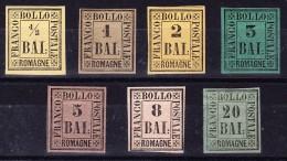 Romagna 1859 - Michel # 1, 2 , 3, 4, 6, 8 U 9 Alle Mit Falz - Romagne