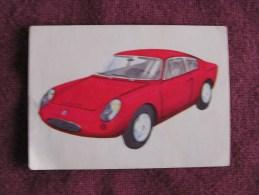 ABARTH   Chromo Auto 1964 Chocolat Jacques Eupen Automobile Trading Card Chromos Vignette - Jacques