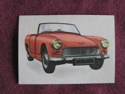 AUSTIN HEALEY   Chromo Auto 1964 Chocolat Jacques Eupen Automobile Trading Card Chromos Vignette - Jacques