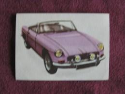 MG MGB  Chromo Auto 1964 Chocolat Jacques Eupen Automobile Trading Card Chromos Vignette - Jacques