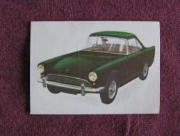 SUNBEAM ALPINE  Chromo Auto 1964 Chocolat Jacques Eupen Automobile Trading Card Chromos Vignette - Jacques