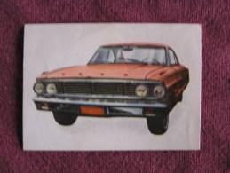 FORD GALAXIE Chromo Auto 1964 Chocolat Jacques Eupen Automobile Trading Card Chromos Vignette - Jacques