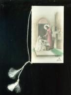 Devotieprentje ( 0385 )  Kommunie Communie Communion -  Hulste    Rosa Vantorre  1956 - Images Religieuses