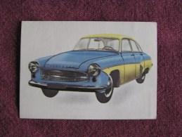 WARTBURG  Chromo Auto 1964 Chocolat Jacques Eupen Automobile Trading Card Chromos Vignette - Jacques