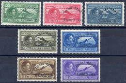 ALBANIA 1931 Tirana-Rome Airmail Set LHM / *.  Michel 234-41 - Albania