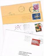 ITALIA (ITALY) - STORIA POSTALE - 1995 LOTTO DI 4 LETTERE X INTERNO)   - RIF. 1647 - 1991-00: Poststempel